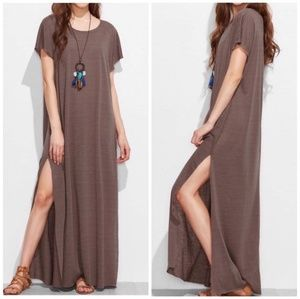 Dresses & Skirts - T shirt maxi casual womens dress